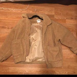 I am Gia teddy coat size XS